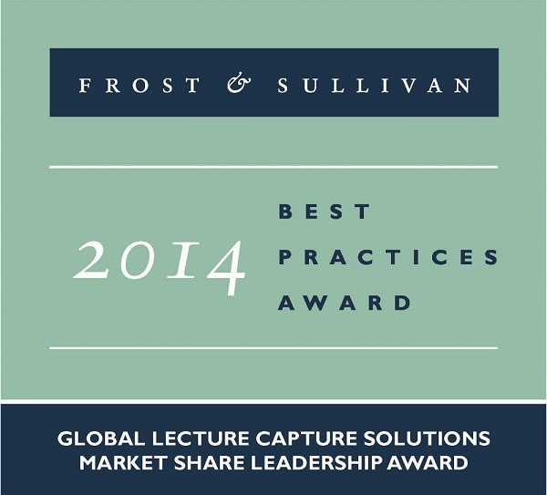 Sonic Foundry Named Global Lecture Capture Leader by Frost & Sullivan for Seventh Consecutive Year