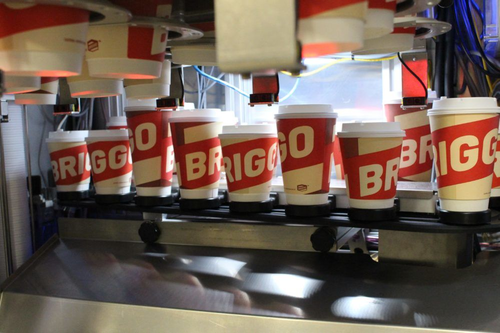 Robotic Coffee Company, Briggo, Teams Up with Mediasite to Power Customized Digital Marketing to Customers